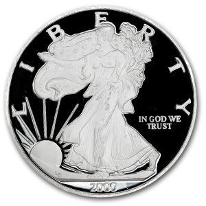 7.3 oz Silver Rounds - Silver Eagle